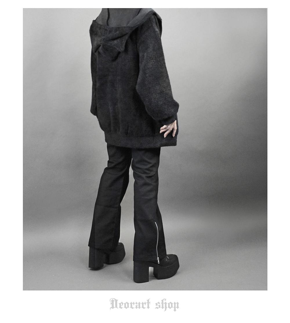 Deorart,ディオラート,フレアパンツ,ブーツカット,ベルボトム,足長,厚底,パンク,ロック,ストレッチ,スチームパンク,ハード,大きめ,かっこいい,ダンス,ライブ,ファッション,衣装,メンズ,レディス,通販