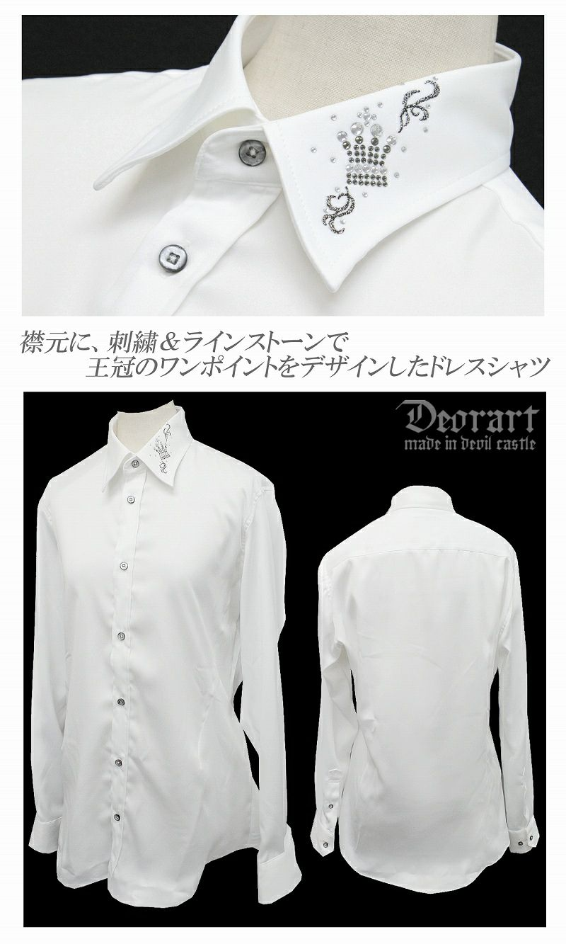 Deorart,ディオラート,シャツ ドレス ヴァンパイア ハロウィン, Tシャツ,ロック,パンク,モード系,ゴシック,ファッション,