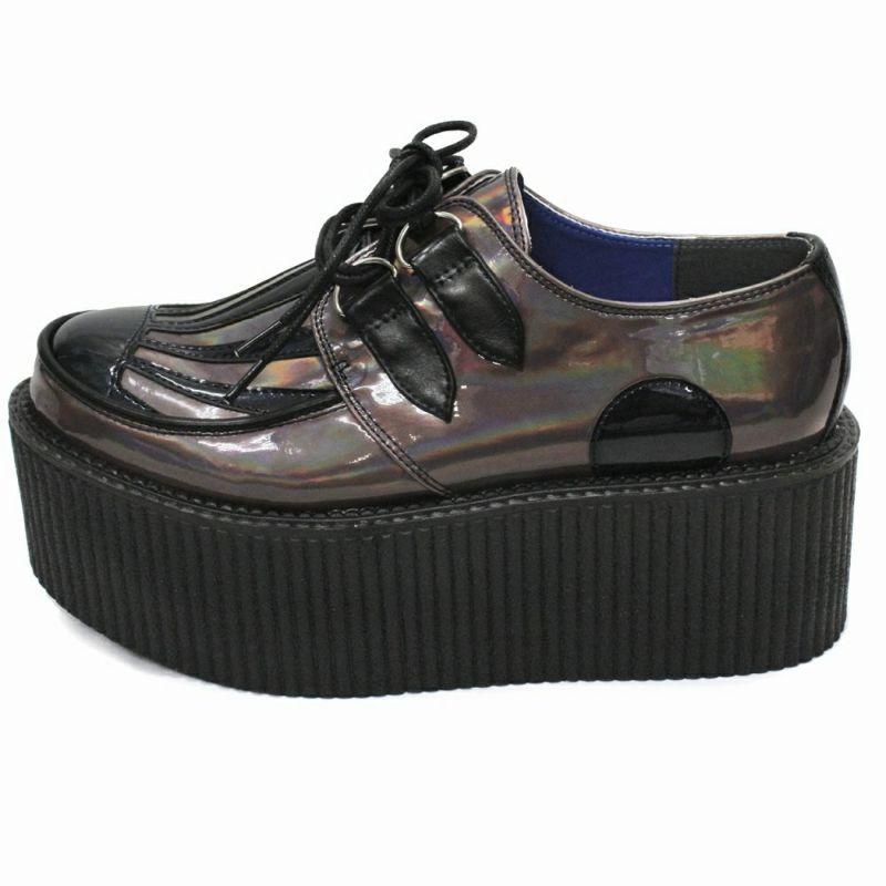 厚底靴,ローカット,和柄,日の丸大正浪漫,日章旗,和風,日本,派手,個性派,メンズ,レディス,シューズ